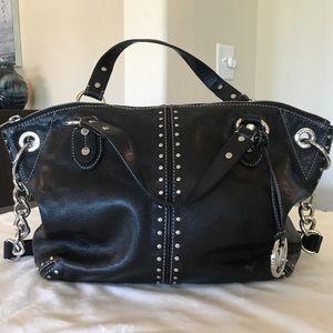 Michael Kors Uptown Astor Black Leather Bag